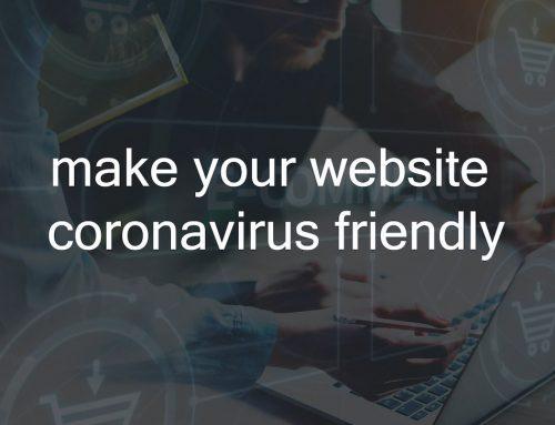 Make Your Website Coronavirus Friendly