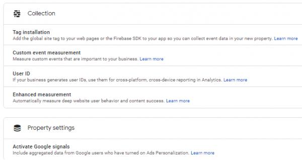 google-analytics-4-ga4-setup-assistant-wizard-configurables