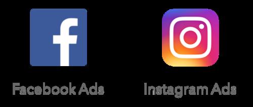facebook ads instagram ads logos