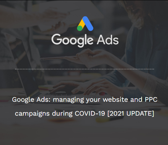 google ads covid 19 website advertising