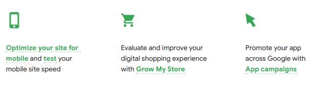 google ads optimise ecommerce experience