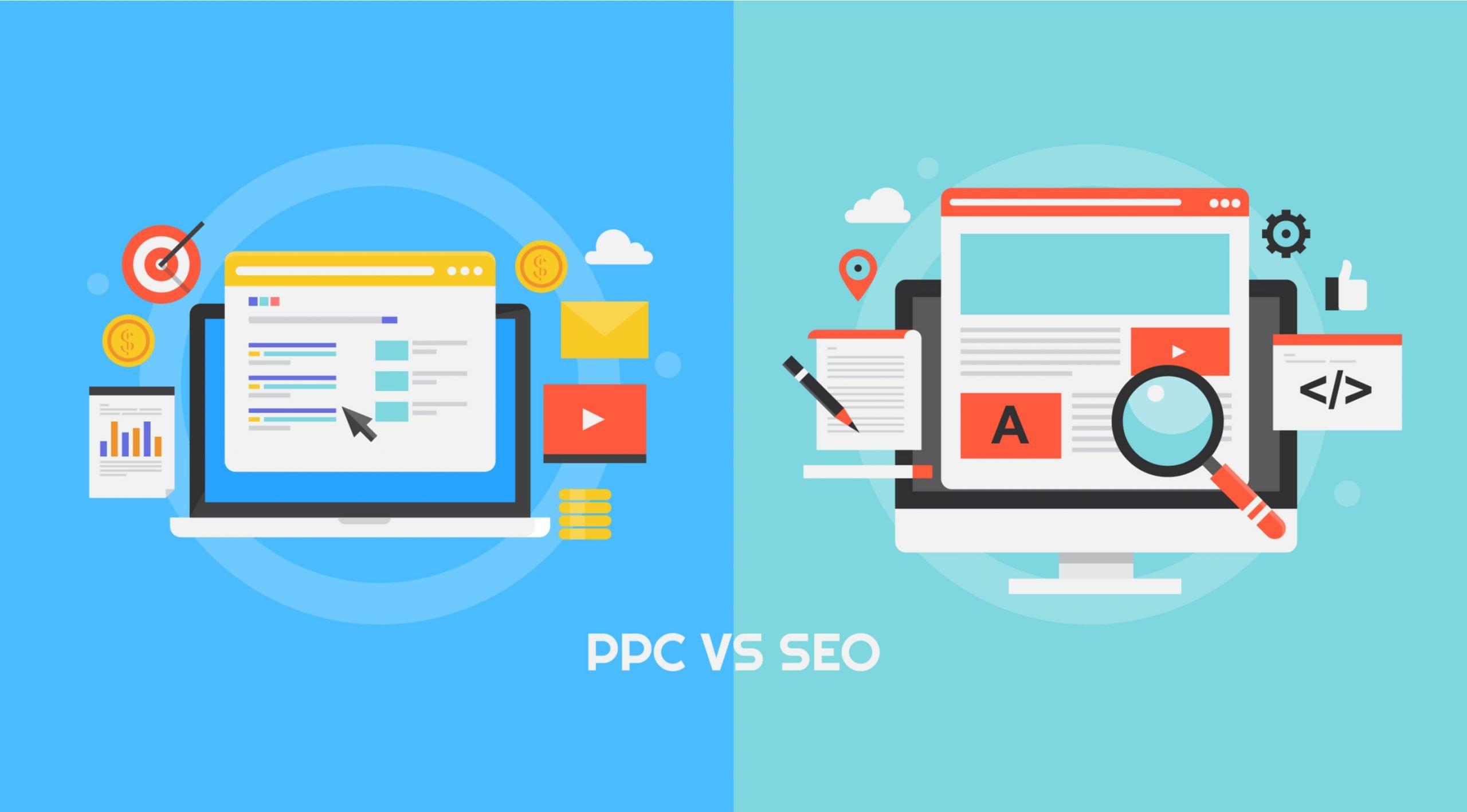 organic vs paid ppc advertising