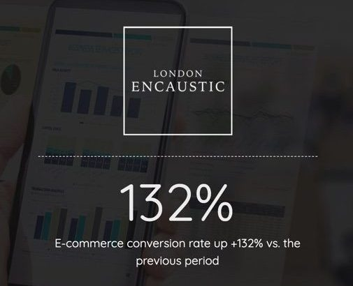 quality e-commerce website design london encaustic
