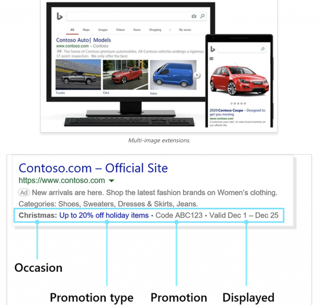 Promotional Ads for Microsoft Example