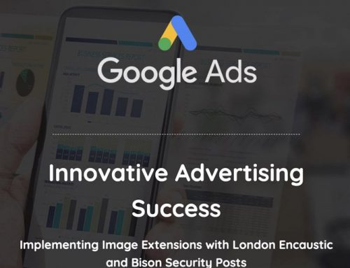 Innovative Advertising Success: Implementing Image Extensions with London Encaustic and Bison Security Posts